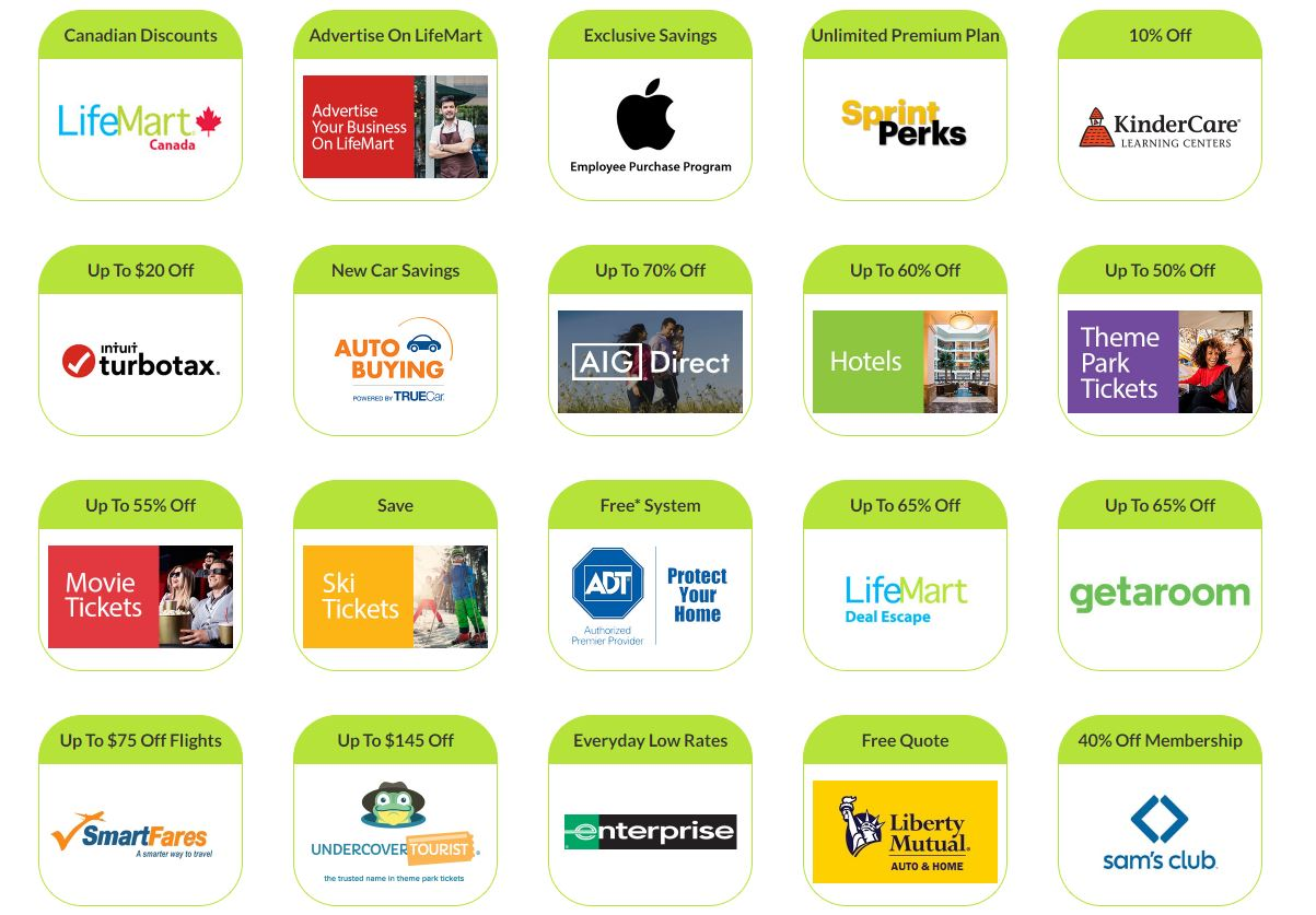 Check out your employee discounts with LifeMart!