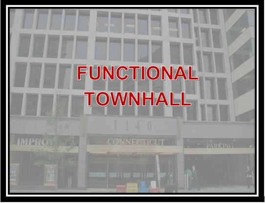 Functional Townhall