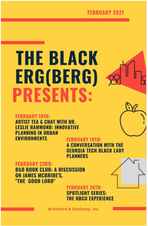 Black ERG – Artist Tea & Chat with Dr. Leslie Hammond 2.18.2021